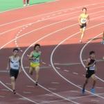 4×400mR決勝 1走小菅
