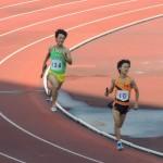 4×400mR決勝 3走田中