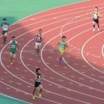 4×400mR決勝 1走神谷