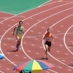 400m予選 神谷