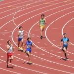 400m準決勝 神谷