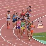 5000m予選 伊地知