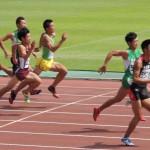 100m予選 髙橋時人