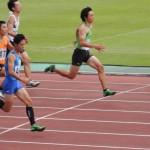 100m予選 谷本
