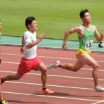 100mオープン 山田
