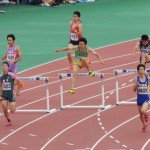 400mH準決勝 吉野