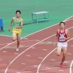 400m予選 野口