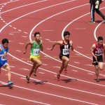 100m準決勝 平本
