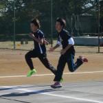 今日練習がOFFの大学生も参加しました。