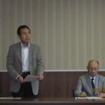 岩崎副会長から開会のご挨拶