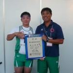 川田先生とツーショット