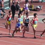 800m予選 三上